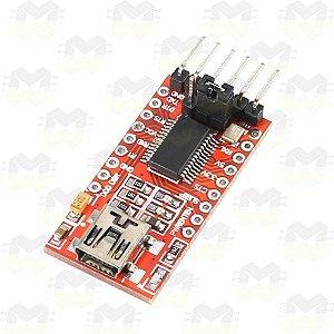 Módulo FTDI FT232RL Conversor USB Serial TTL