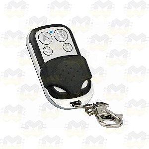 Controle Remoto RF 433MHz com 4 Botões Learning Code EV1527