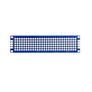 Placa de Circuito Impresso Ilhada 2X8 Azul (168 furos)