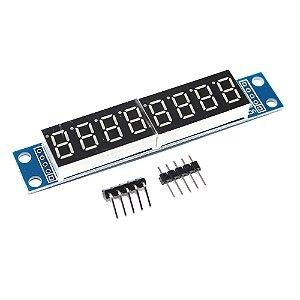 Módulo MAX7219 Display 7 Segmentos 8 Dígitos