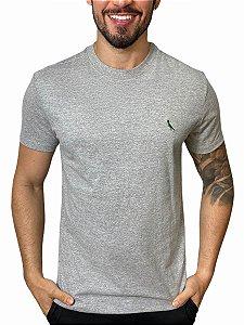 Camiseta Reserva Básica Cinza Mescla