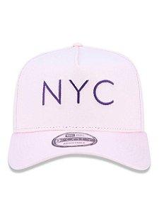 Boné New York City NYC Rosa