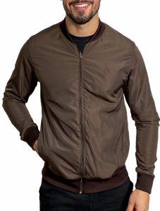 Jaqueta Red Feather Bomber Brown