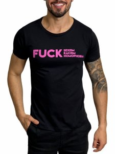 Camiseta Red Feather Fuck Hate