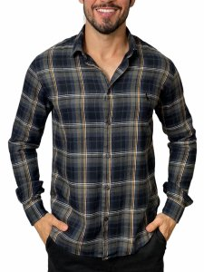 Camisa Reserva Flanela Xadrez