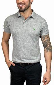 Camisa Polo Ralph Lauren Cinza