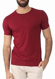 Camiseta Armani Exchange Bordô
