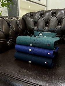 Kit com 3 Camisas Tommy Hilfiger