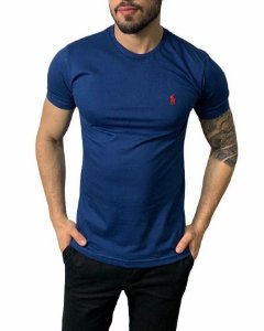 Camiseta Ralph Lauren Básica Azul