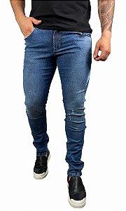Calça Jeans John John Azul Estonada