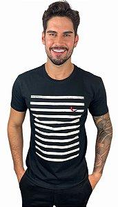 Camiseta Reserva Faixa III Preta