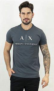 Camiseta Armani Exchange AX Chumbo