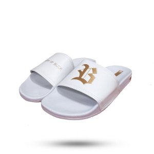 Chinelo Slide White