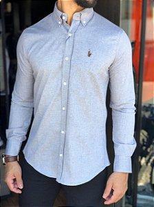 Camisa Ralph Lauren Cinza