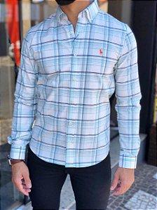 Camisa Ralph Lauren, Xadrez