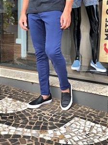 Calça Sarja azul marinho, Booq