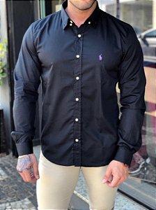 Camisa Ralph Lauren Preto