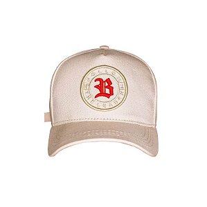 Boné Strapback Follow Logo Bege BLCK