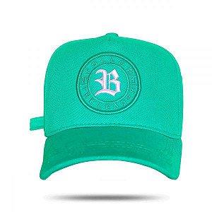 Boné Strapback Follow Logo Green Water BLCK