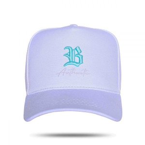 Boné Snapback Authentic Blue White BCLK