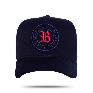 Boné Strapback Follow Logo Blue BCLK