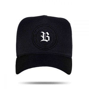Boné Snapback Follow Black Reflective BCLK