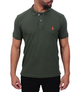 Camiseta polo Ralph Lauren Verde Escuro