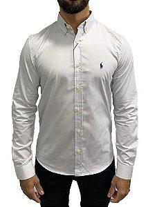 Camisa Ralph Lauren Branco Gelo