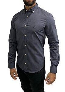 Camisa Ralph Lauren Cinza Chumbo