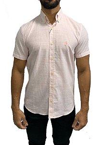 Camisa Ralph Lauren Linho Rosa