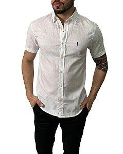 Camisa Ralph Lauren Linho Branca