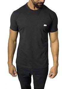 Camiseta Lacoste Básica Preta