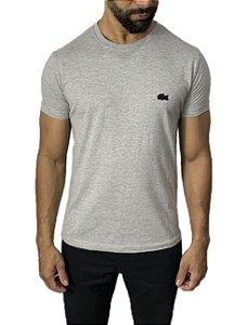 Camiseta Lacoste Básica Cinza
