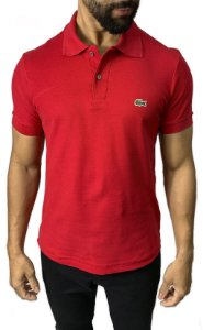 Camisa Polo Lacoste Vermelha