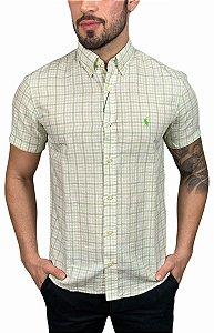 Camisa Ralph Lauren Xadrez Verde