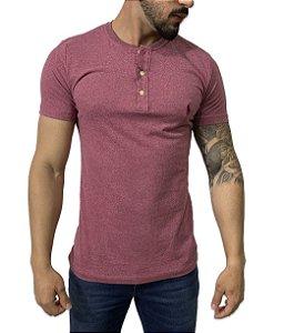 Camiseta Ralph Lauren Henley Bordo