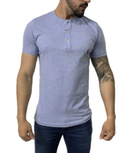 Camiseta Ralph Lauren Henley Azul