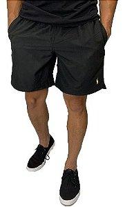 Shorts Praia Ralph Lauren Preto + Frete Grátis