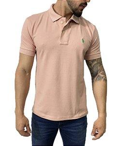 Camisa Polo Ralph Lauren Rosa