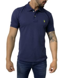 Camisa Polo Ralph Lauren Azul Marinho