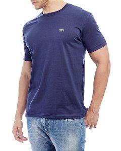 Camiseta Lacoste Básica Azul