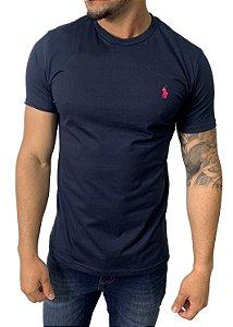Camiseta Ralph Lauren Básica Azul Marinho