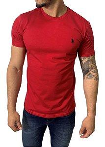 Camiseta Ralph Lauren Básica Vermelha