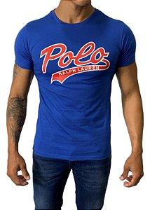 Camiseta Ralph Lauren Estampada Azul