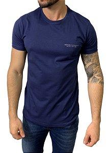 Camiseta Armani Exchange Milano/New York Azul Marinho