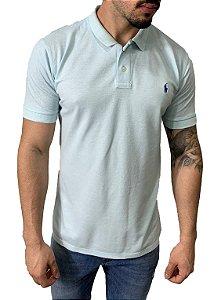 Camisa Polo Ralph Lauren Azul Claro