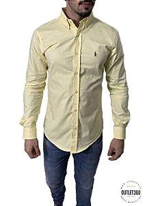 Camisa Ralph Lauren Oxford Amarela