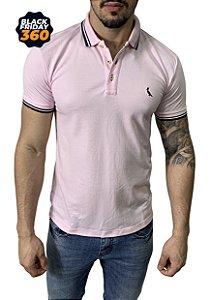 Camisa Polo Reserva Rosa