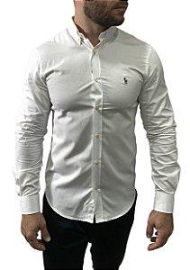 Camisa Ralph Lauren Oxford Branca