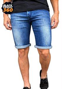 Bermuda Jeans Armani Exchange Azul